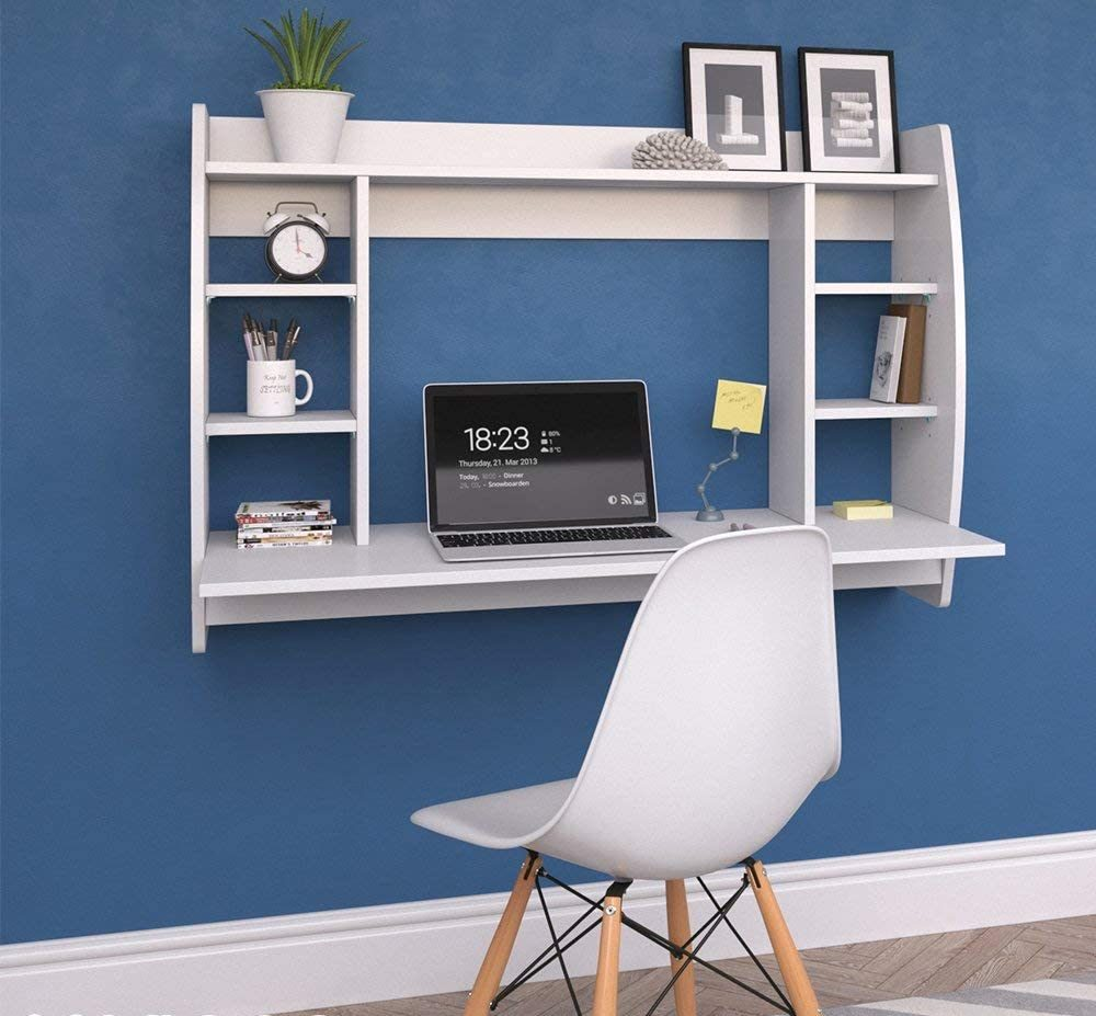 escritorio colgante pared