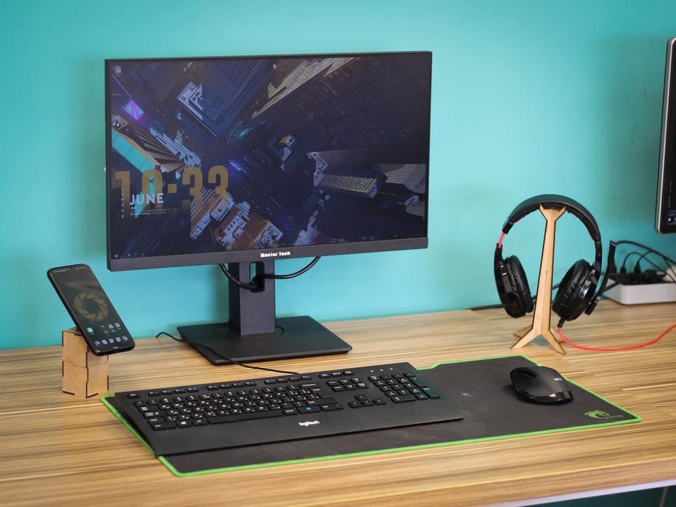 escritorio moderno madera