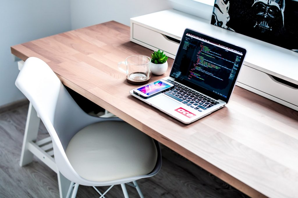 escritorio melamina