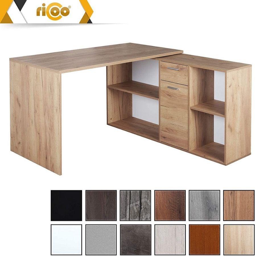 comprar mesa despacho esquinera madera maciza