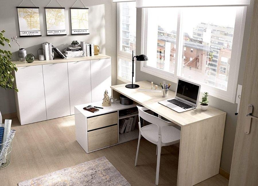 comprar mesa ordenador esquina madera
