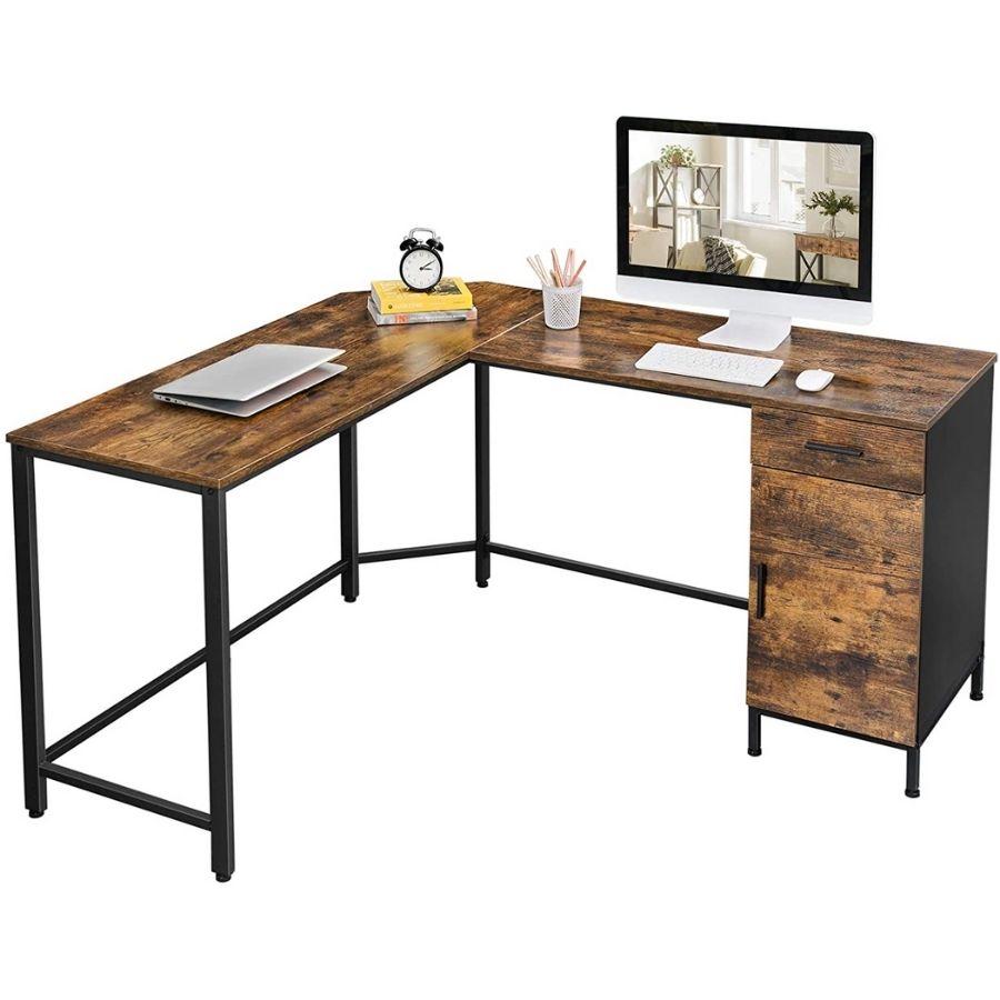 comprar mesa estudio rustica barata