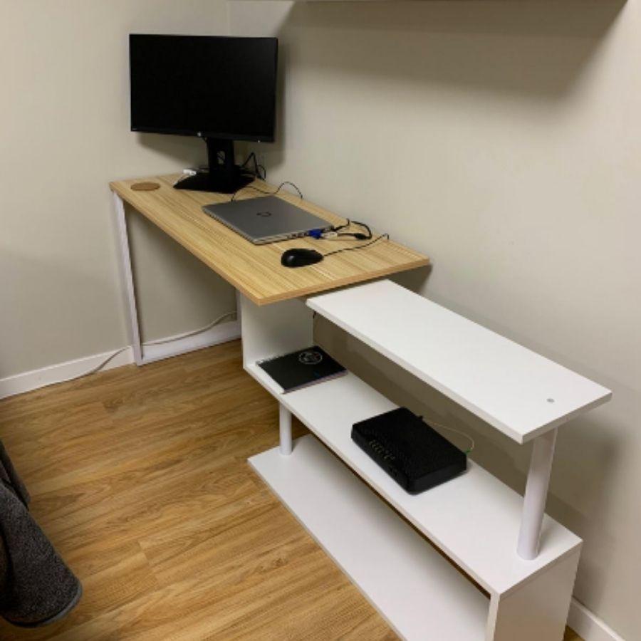 escritorios esquineros pequeños