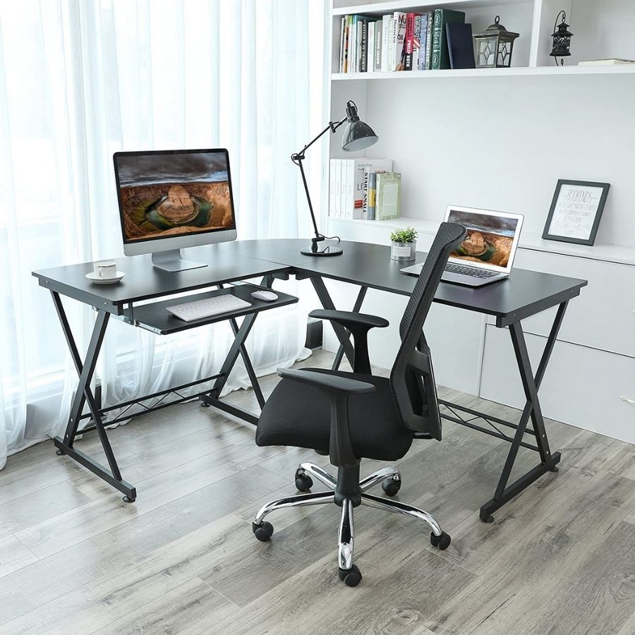 mueble escritorio esquinero para pc
