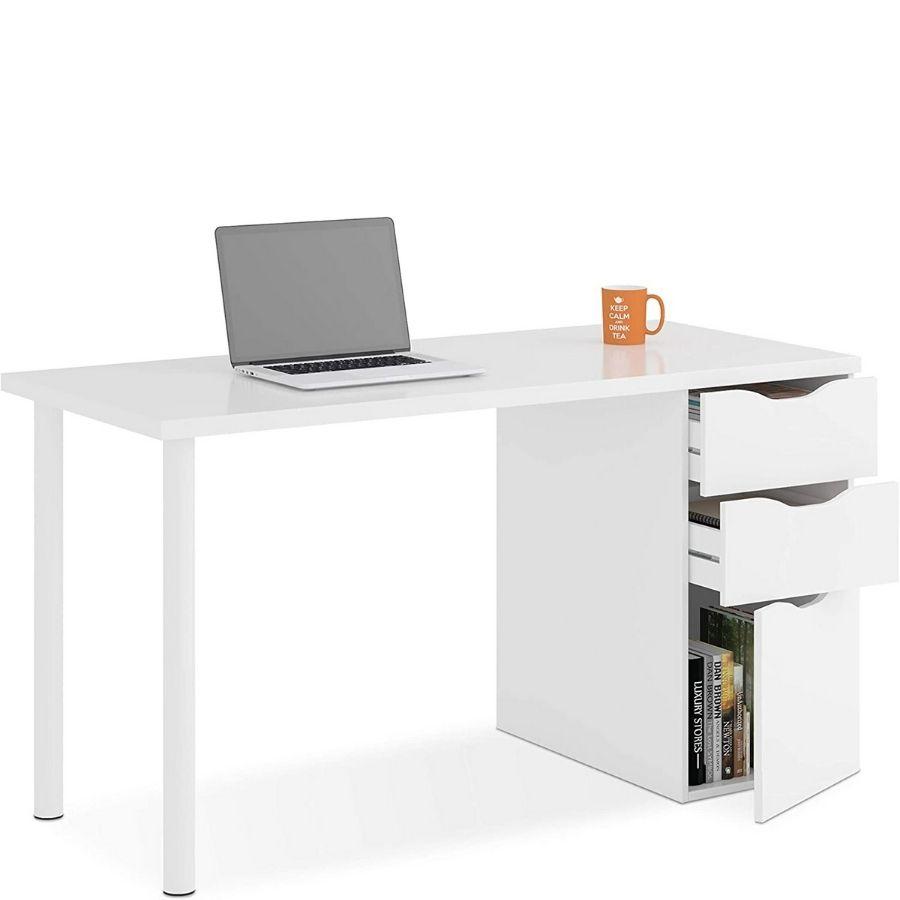 escritorio compacto y convertible