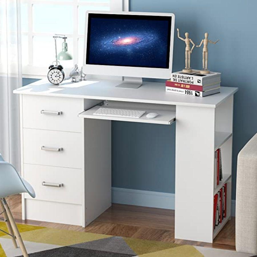 escritorios de melamina juveniles