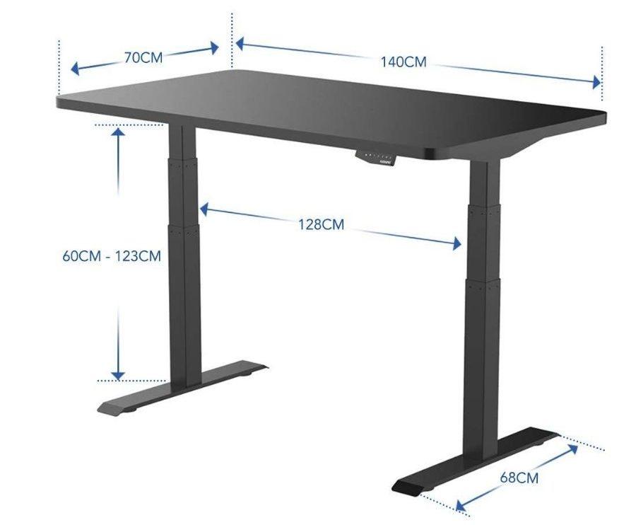 medidas escritorio flexispot e6