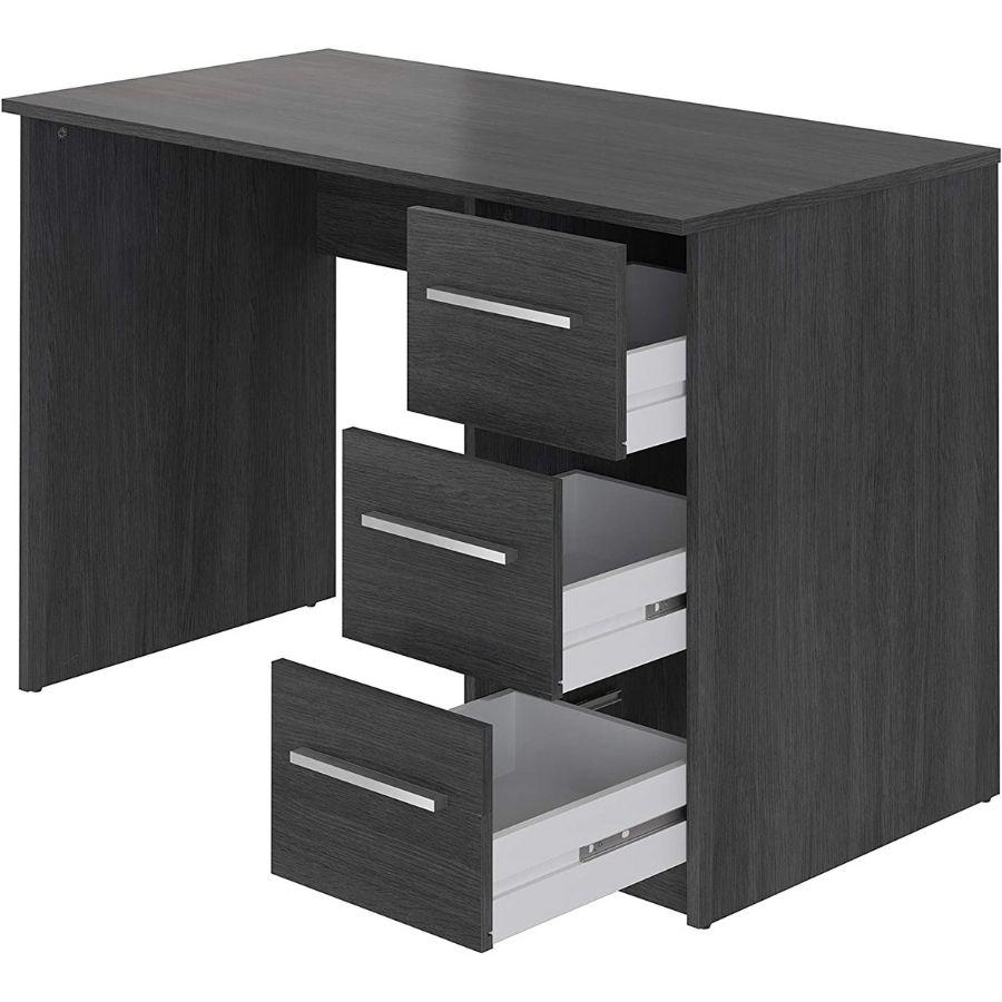 comprar online mesa estudio gris amazon movian