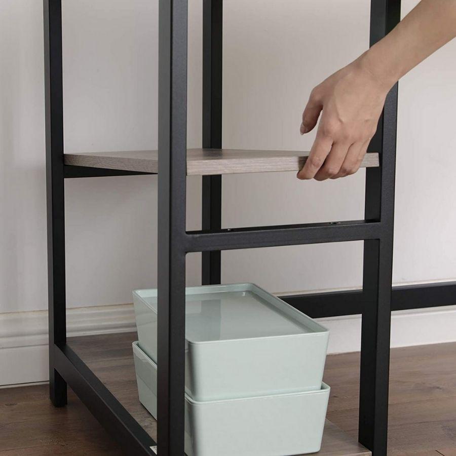 comprar escritorio gris esquinero