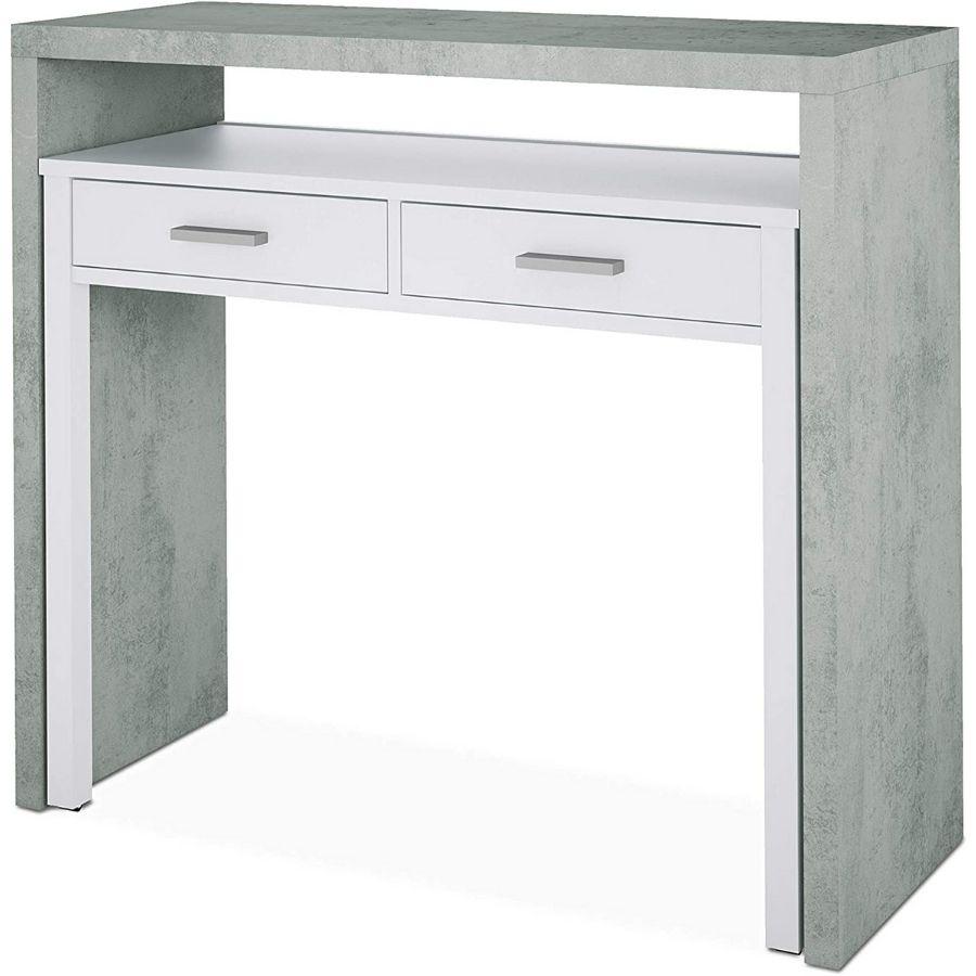 comprar escritorio gris moderno