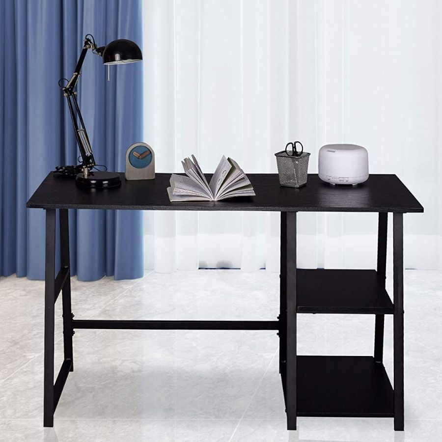 escritorio negro 120