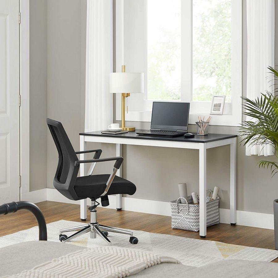 escritorio negro barato