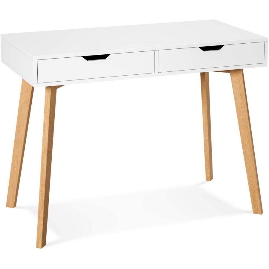 escritorios minimalistas para dormitorio