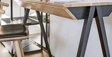 mesa despacho minimalista moderna