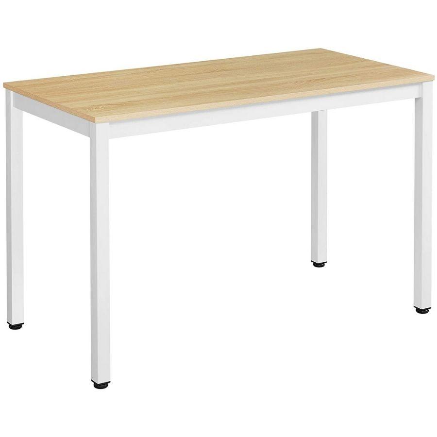 comprar mesa escritorio color haya claro amazon