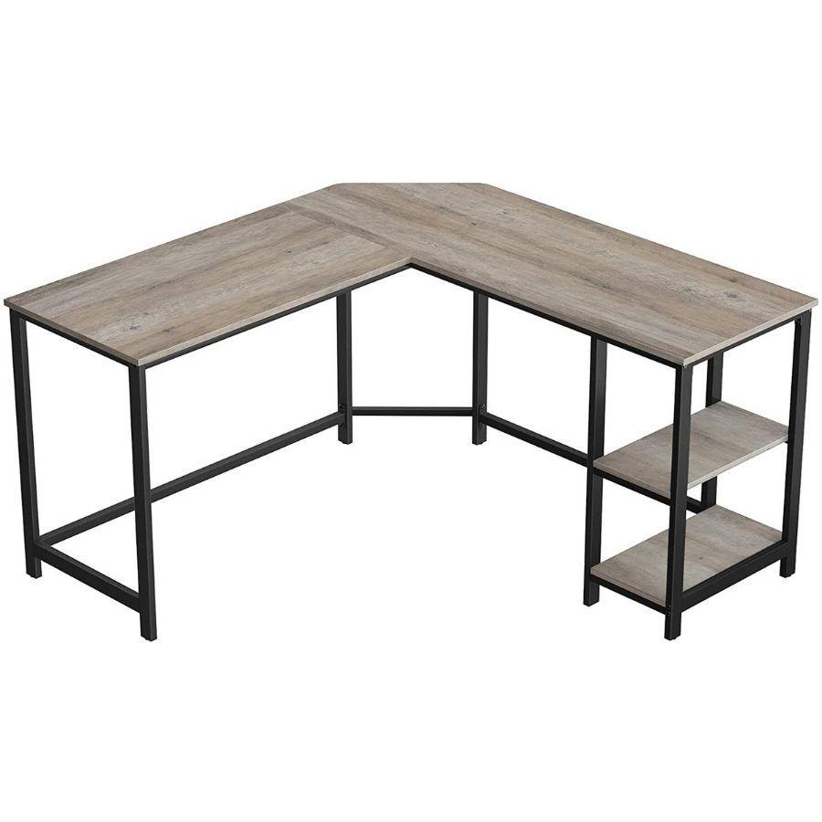 comprar mesa escritorio gris esquinera