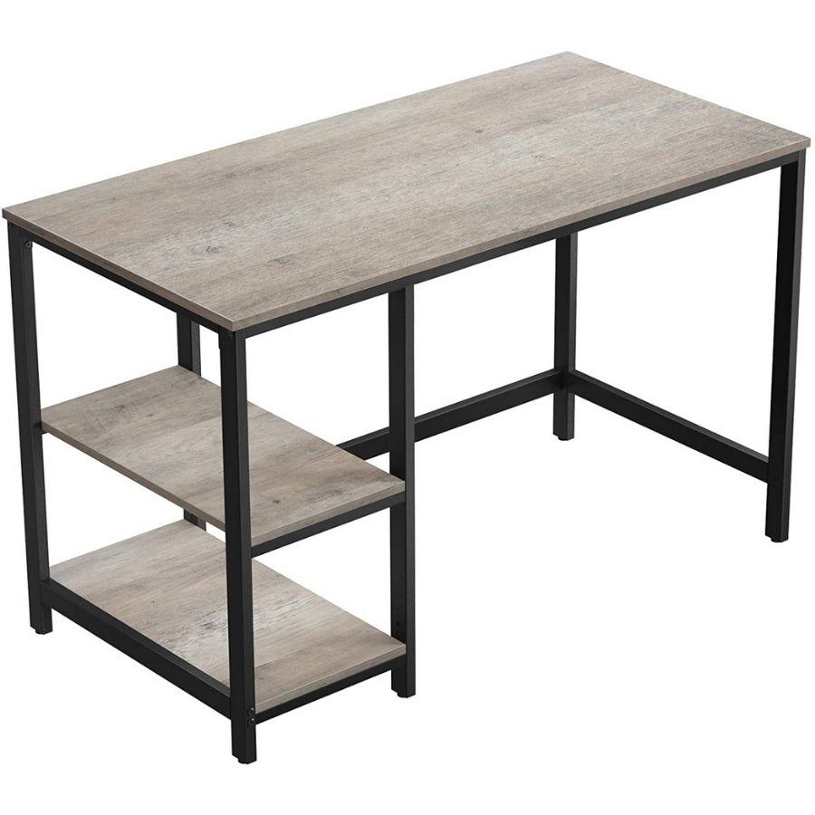 comprar mesa escritorio gris industrial