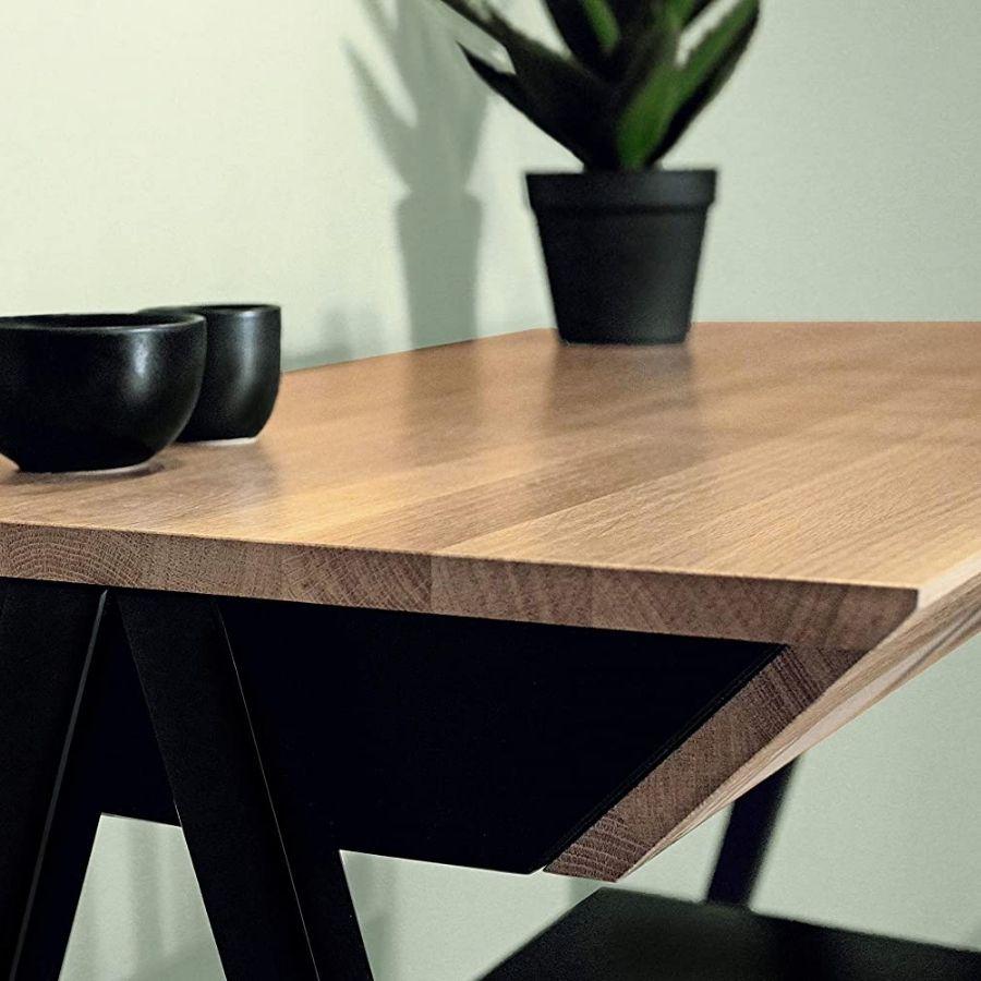 mesa escritorio minimalista madera moderna