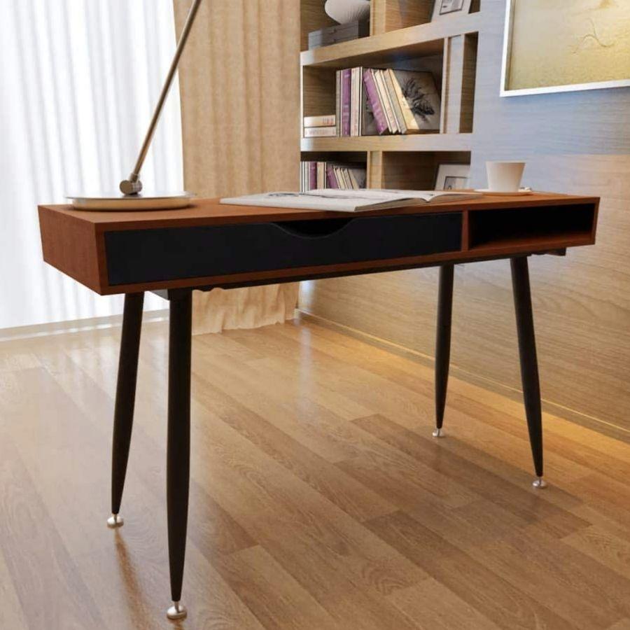 mesa escritorio minimalista oficina en casa