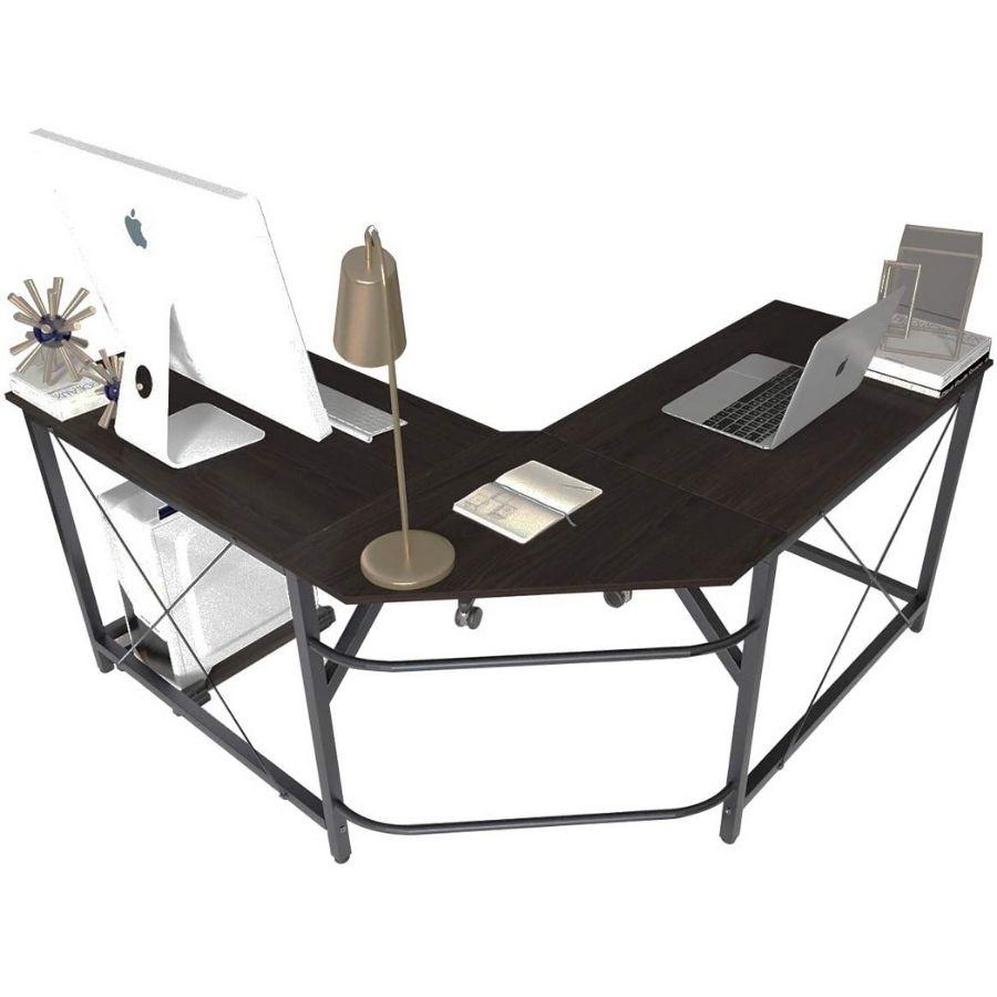 comprar mesa escritorio negra esquinera