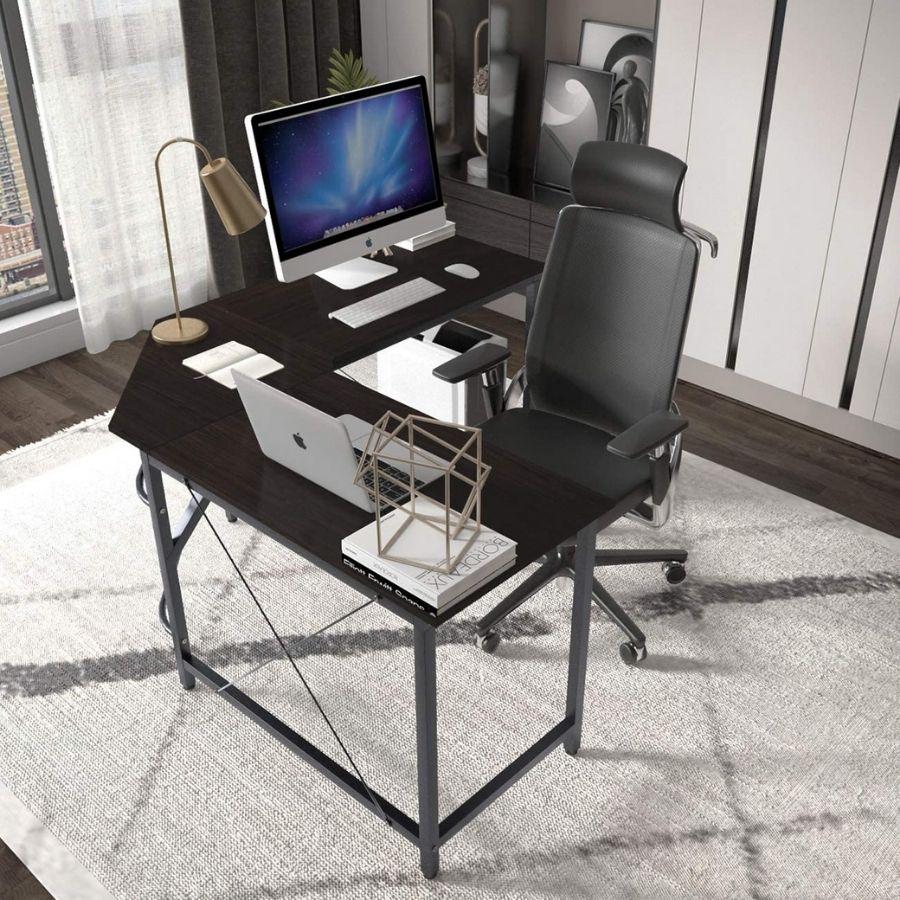 mesa escritorio negra grande