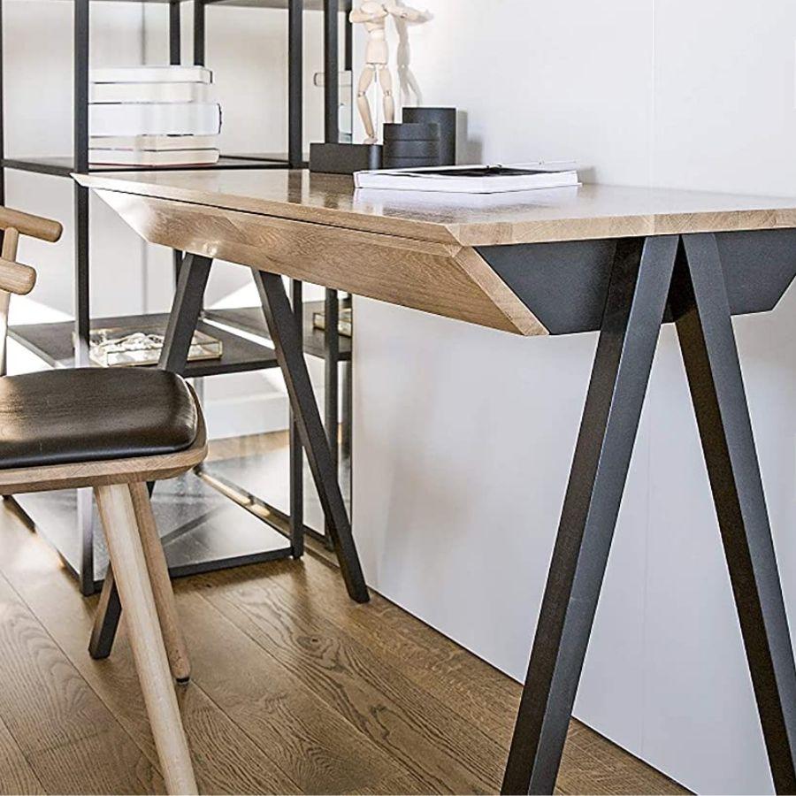 mesa estudio minimalista madera moderna