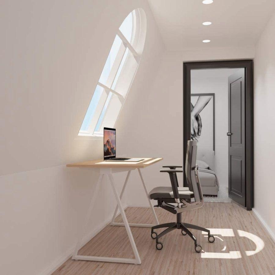 mesa estudio minimalista oficina