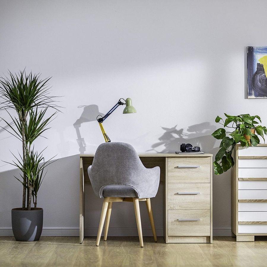 comprar mesa oficina color madera amazon movian