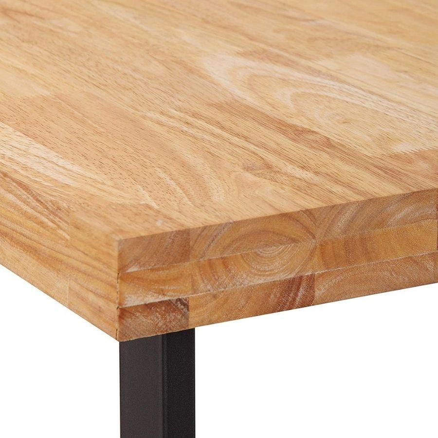 comprar mesa oficina color madera claro amazon
