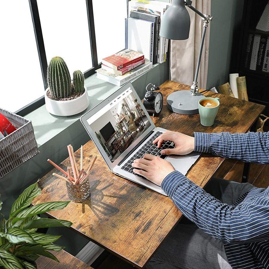 mesa oficina minimalista pequeña