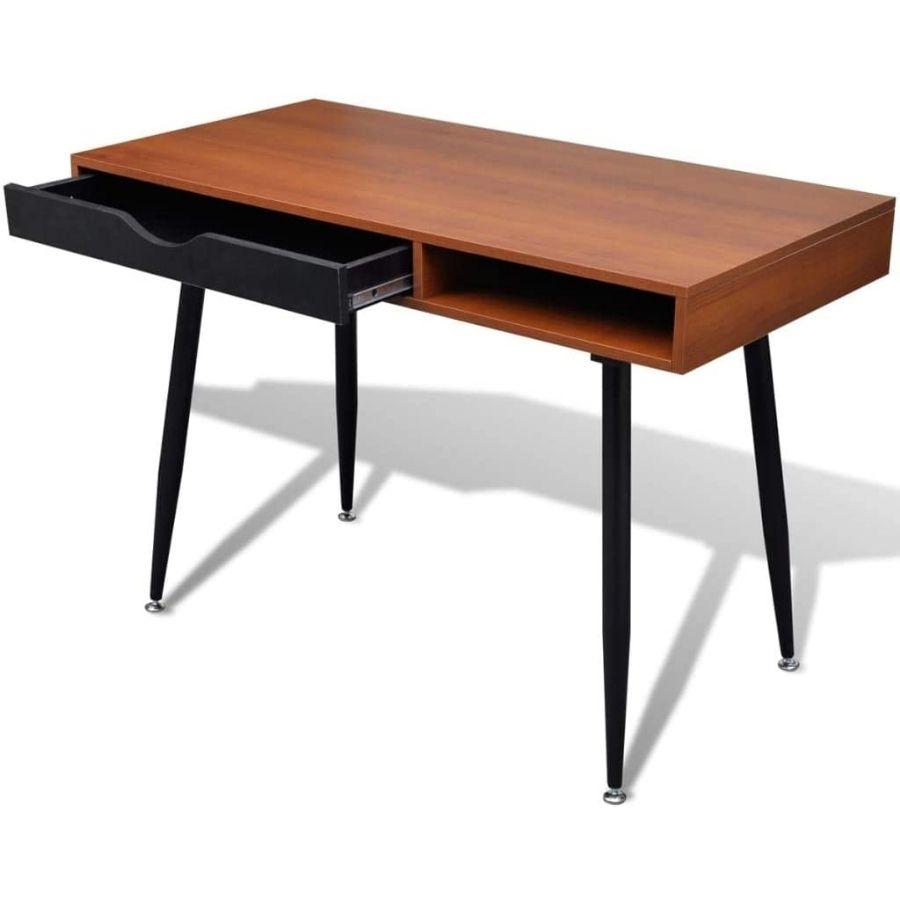 mesa trabajo minimalista oficina en casa