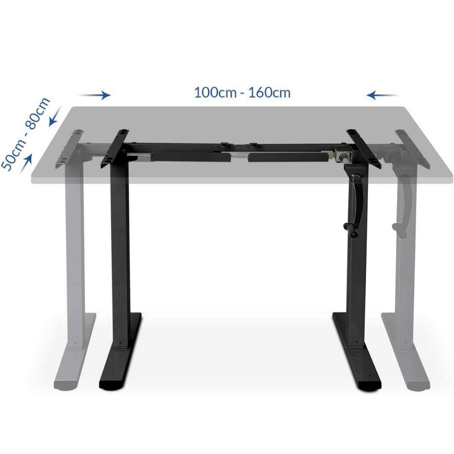 escritorio de pie ajustable precio