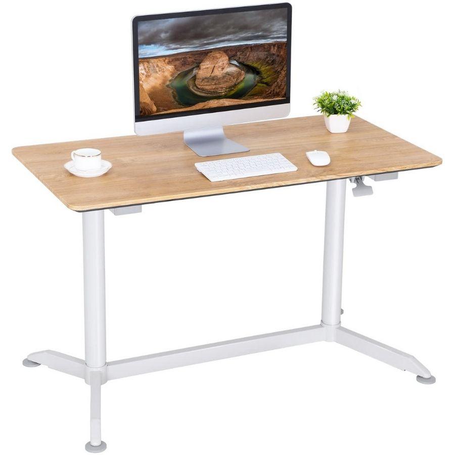 mejor escritorio elevable manual